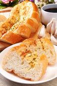Garlic bread — Stock Photo