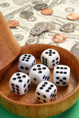 Dice cup — Stockfoto