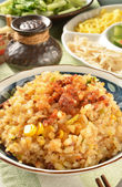 Fried rice — Stock Photo