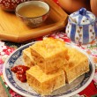 Stinky tofu — Stock Photo