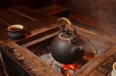 Old kettle — Stock Photo