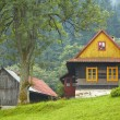 Mountain village — Stock Photo