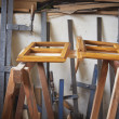 Stock Photo: Carpentry shop