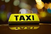 Taksi — Stok fotoğraf