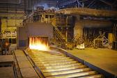 Hot steel — Stock Photo