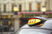 Taxi — Stockfoto