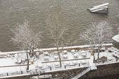 Prag vintertid — Stockfoto