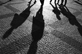Shadows of — Stock Photo