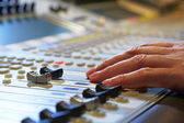 Mixing Board — Stock Photo