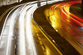 Busy Night Traffic — Stock Photo