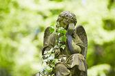Kyrkogården — Stockfoto