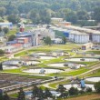 Waste water treatment plant — Stock Photo