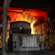 Molten hot steel — Stock Photo #28734573