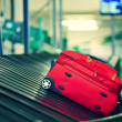 Baggage sorting — Stock Photo
