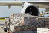 Cargo airplane — Stock Photo