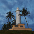 Lighthouse in the nifht — Stock Photo