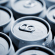 Beverage cans — Stock Photo