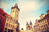 Praça da cidade velha — Foto Stock