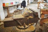 Carpentry workshop — Stock fotografie