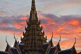 Sonnenaufgang in bangkok — Stockfoto