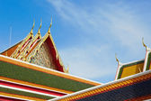 Roof of the temple — Stock Photo