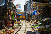 Mercado ferroviario — Foto de Stock