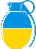 Ukraine conflict — Stock Vector