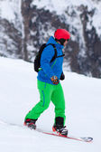 Snowboarder — Stok fotoğraf