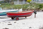 赤いボート — ストック写真