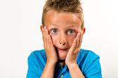 Surprised boy — Stock Photo