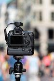 Professional camera — Stock Photo