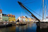 Nyhavn canal in Copenhagen — Foto de Stock