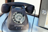 Rotary telephone — Stock Photo