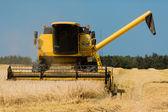 Yellow harvester — Stock Photo