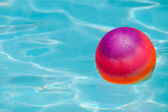 Ball in pool — Stock Photo