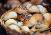 Ekmek ruloları — Stok fotoğraf