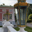 Lantern on the stairs in the palace Sheremetev Kuskovo — Stock Photo #28547069