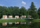 Menazherei - cottages for waterfowl Estate Kuskovo — Stock Photo