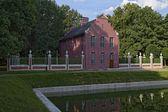 Dutch house, the estate Kuskovo — Stock Photo
