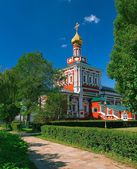 Church of the Assumption with a refectory — Стоковое фото