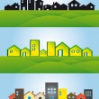 City vector backgrounds - Imagen vectorial