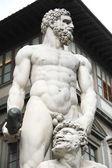 Herkules i cacus w florencja, włochy — Zdjęcie stockowe