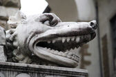 Cerberus statue (Hercule and Cacus), Florence, Italy — Stock Photo