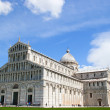 Place of Miracles and the leaning Tower,Pisa, Italy — Stock Photo