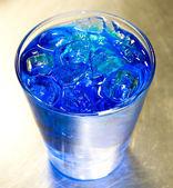 синий алкоголя коктейль — Стоковое фото