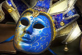 Traditional carnival mask close-up, Venice, Italy — Stock Photo