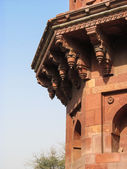 Qila-i-kuhna Mosque at old fort Delhi, India — Stock Photo
