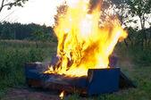 Burn — Stock Photo