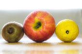 üç meyve — Stok fotoğraf
