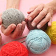 Knitting — Stock Photo #25576233